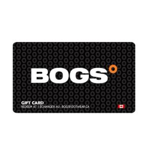 $50 Bogs Gift Card (Ends 10/13)