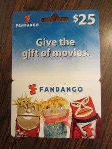 $100 Fandango Gift Card (Ends 9/20)