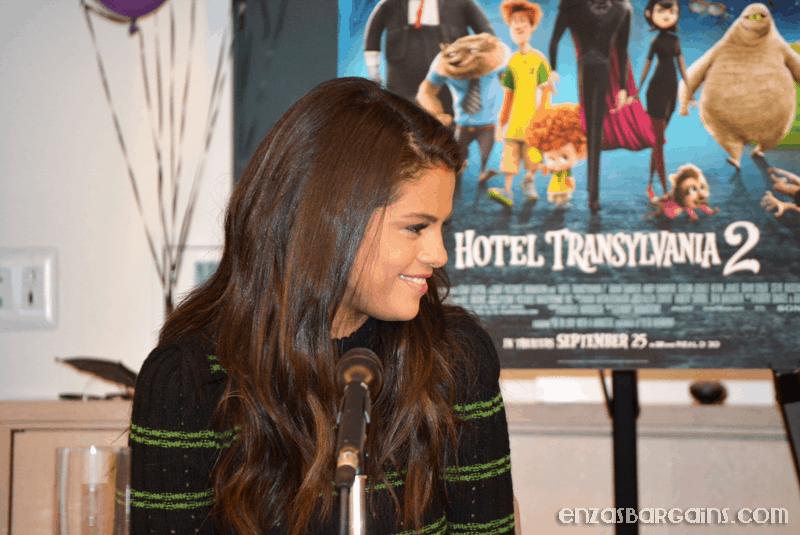 Selena Gomez Interview – Hotel Transylvania 2