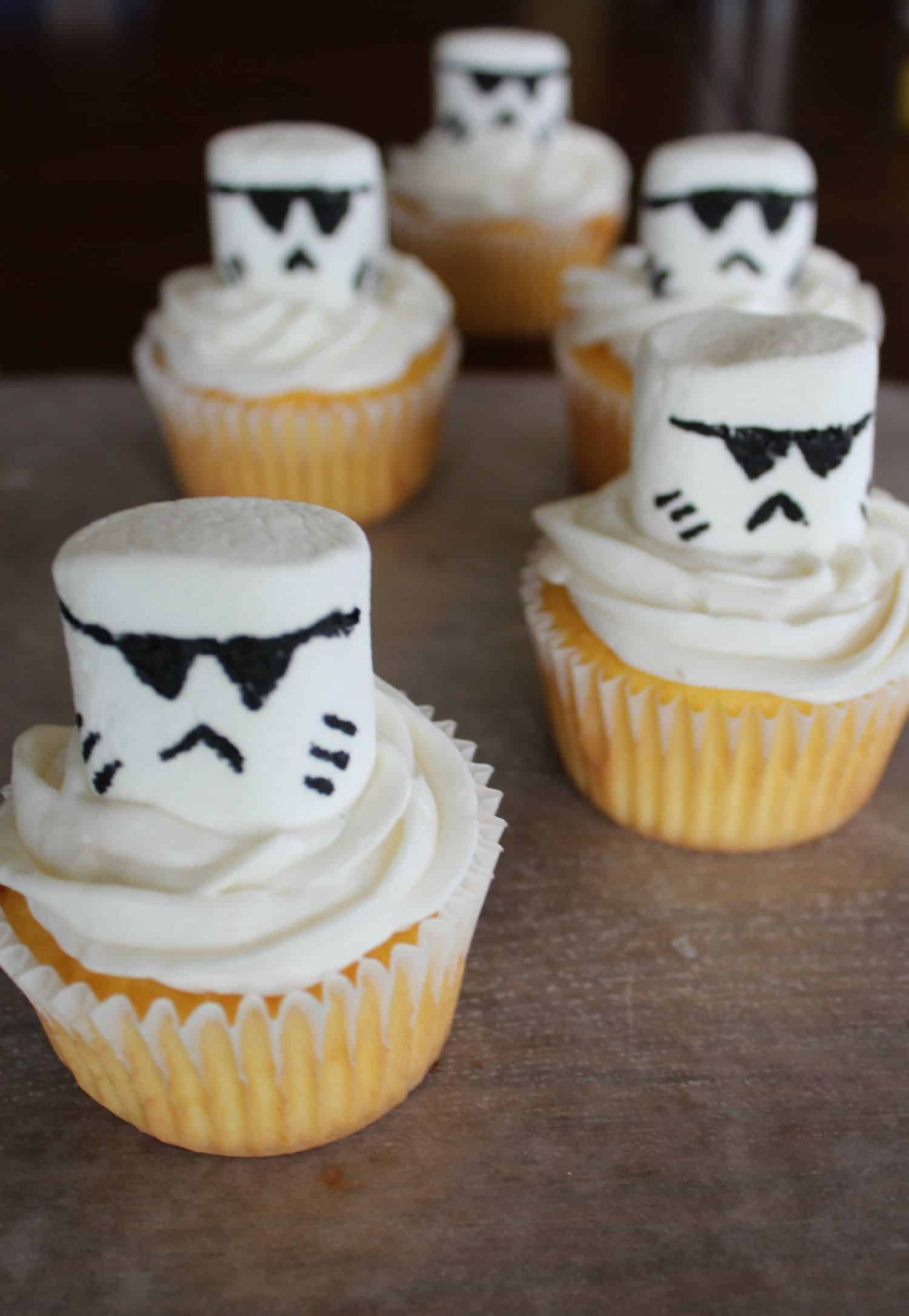 Star Wars Stormtrooper Cupcakes Recipe
