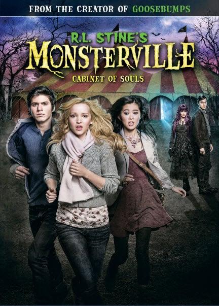 Braeden Lemaster Interview - R.L. Stine's Monsterville: Cabinet of Souls on DVD and Digital