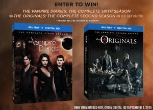 The Vampire Diaries OR The Originals On DVD