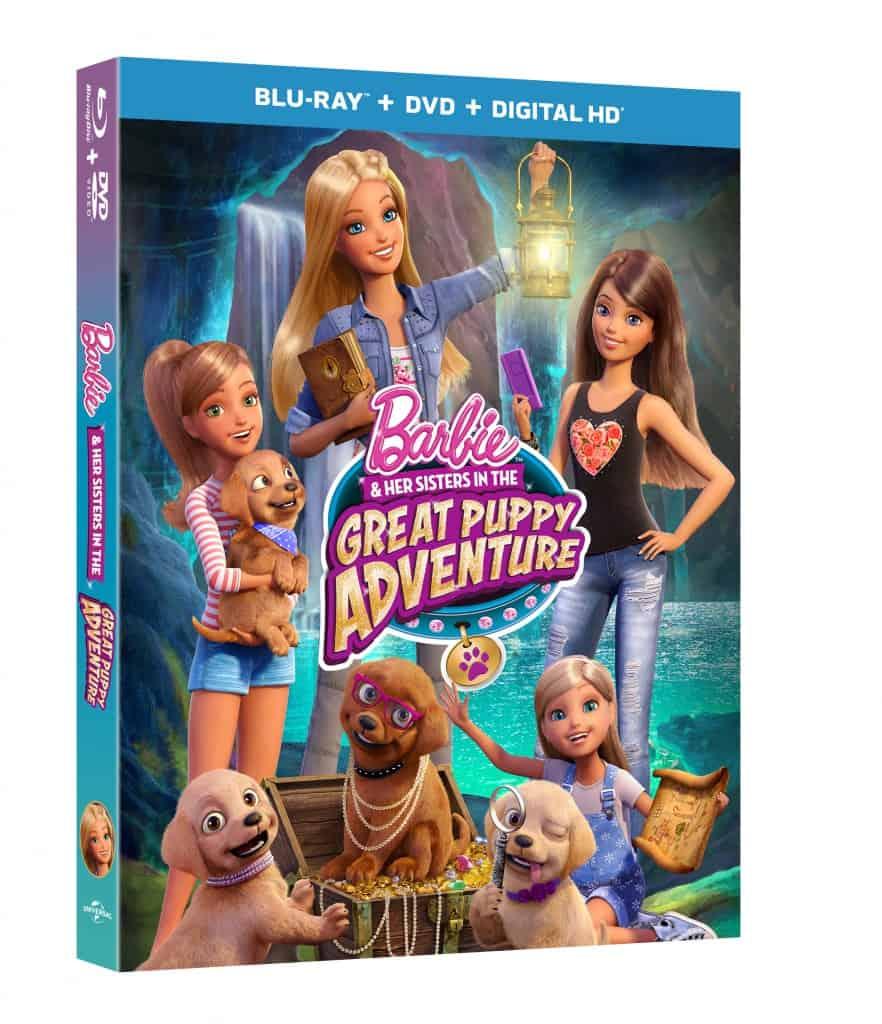 Barbie Puppy DVD