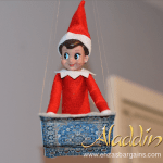 Elf on the Shelf Aladdin Flying Carpet!
