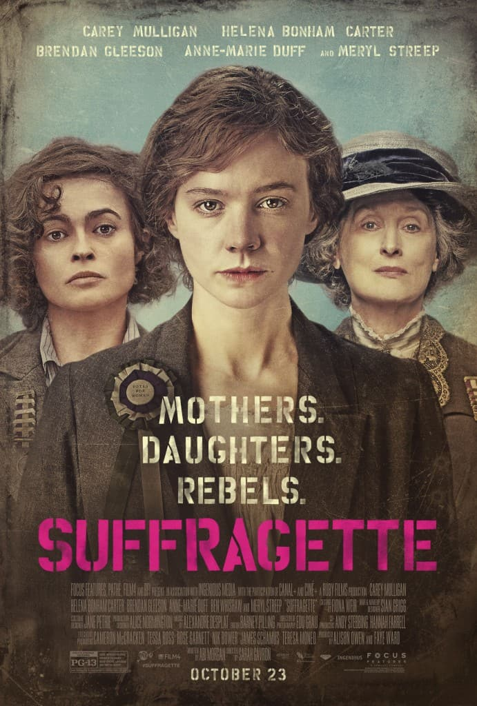 Suffragette Movie Review– A Woman's Review