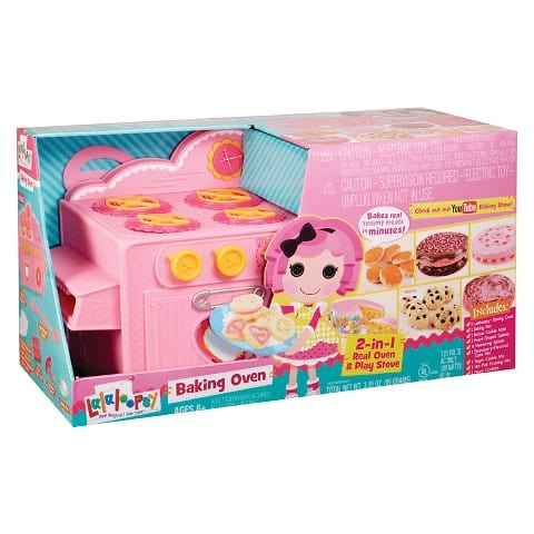Lalaloopsy Baking Oven & Giveaway - Check out her cooking show!