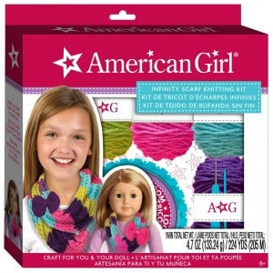 American Girl Infinity Scarf Knitting Kit (Ends 12/1)