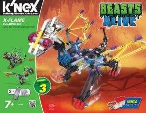 K'Nex Beasts Alive X-Flame (11/30)