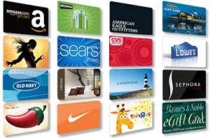 $25 Gift Card of Winner's Choice (Ends 11/16)