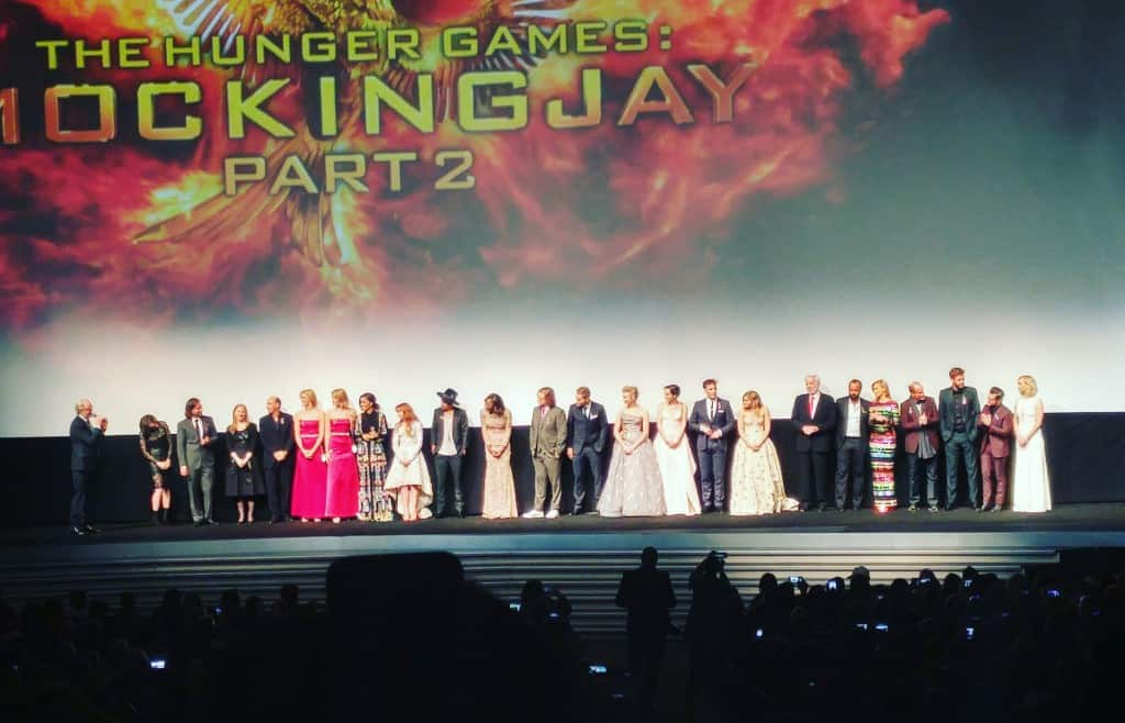 Mockingjay Part 2 Red Carpet Premiere at Microsoft Theater in LA