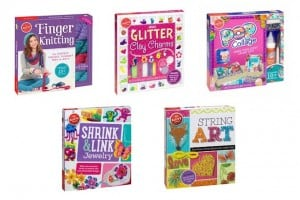 Giveaway:  5 Klutz Activity Books for Crafts (Ends 11/15)