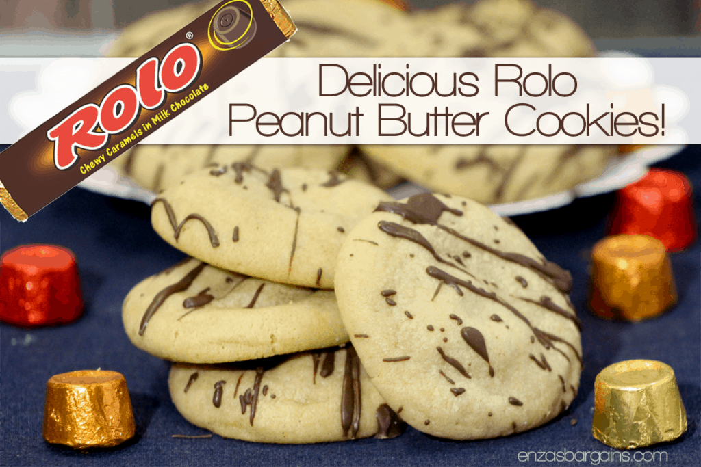 Rolo Peanut Butter Cookies - Cookies Made With Rolos