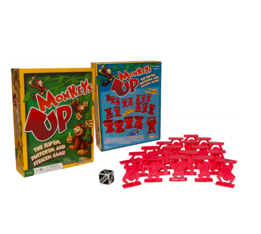 Monkeys Up - A fun board game for 6 year olds!