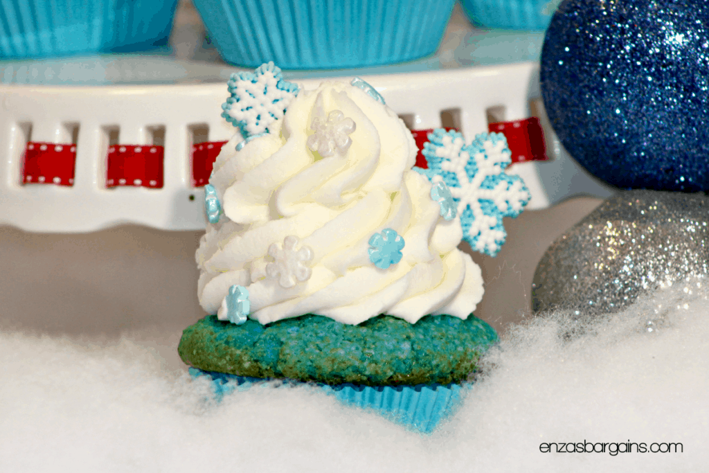Disney's Frozen Cupcakes - Inspired by Elsa and Olaf