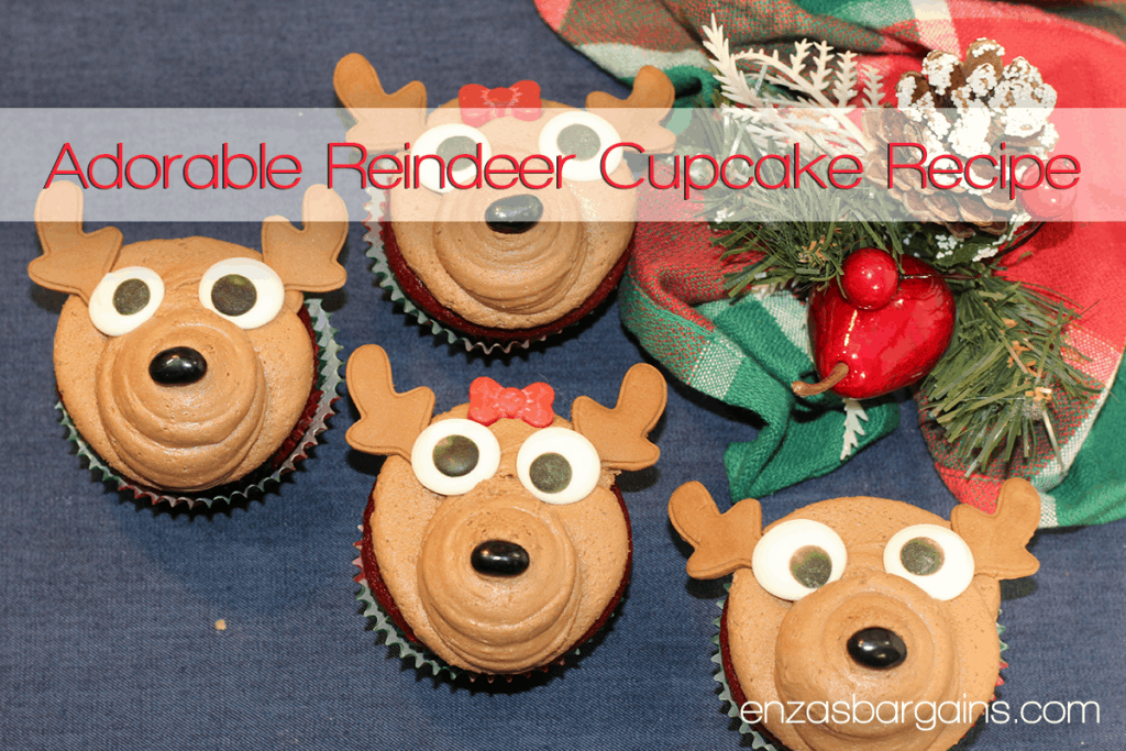 Reindeer Cupcake Recipe - Perfect for the Holiday Season!