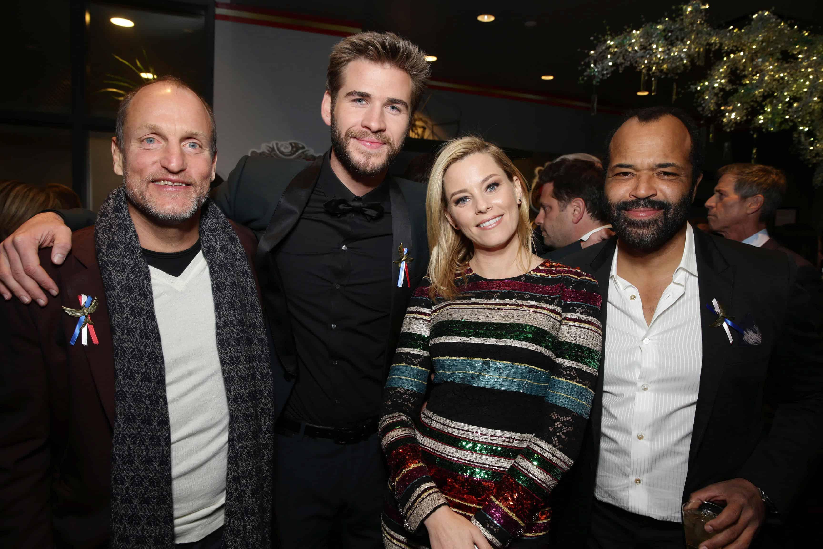 Liam Hemsworth Mockingjay Premiere