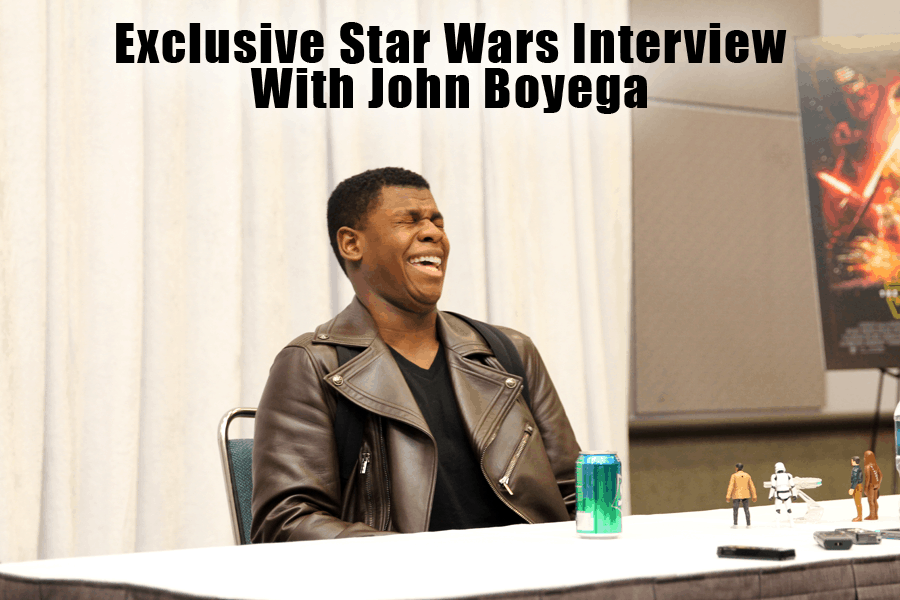 John Boyega Star Wars Interview – Learn about Finn