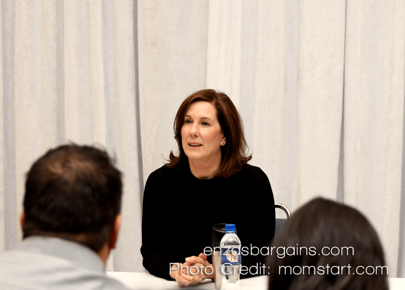 Kathleen Kennedy Star Wars Interview - The Force Awakens