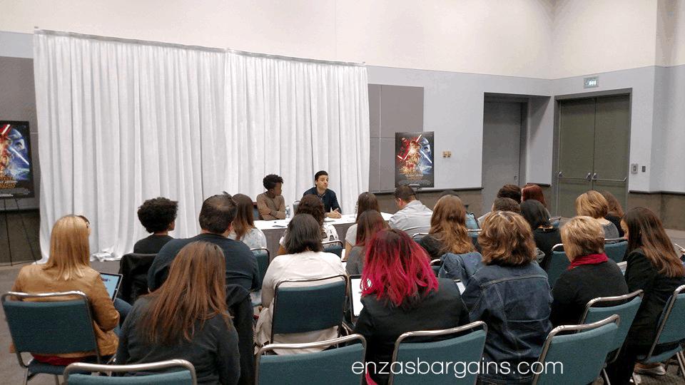 Oscar Isaac & Lupita Nyong'o Star Wars Interview