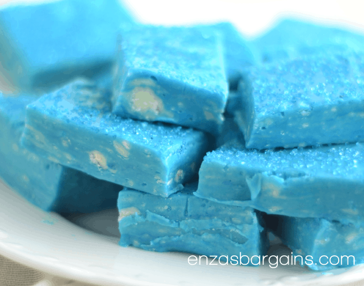 Blue Fudge Recipe - Perfect Frozen Themed Snack