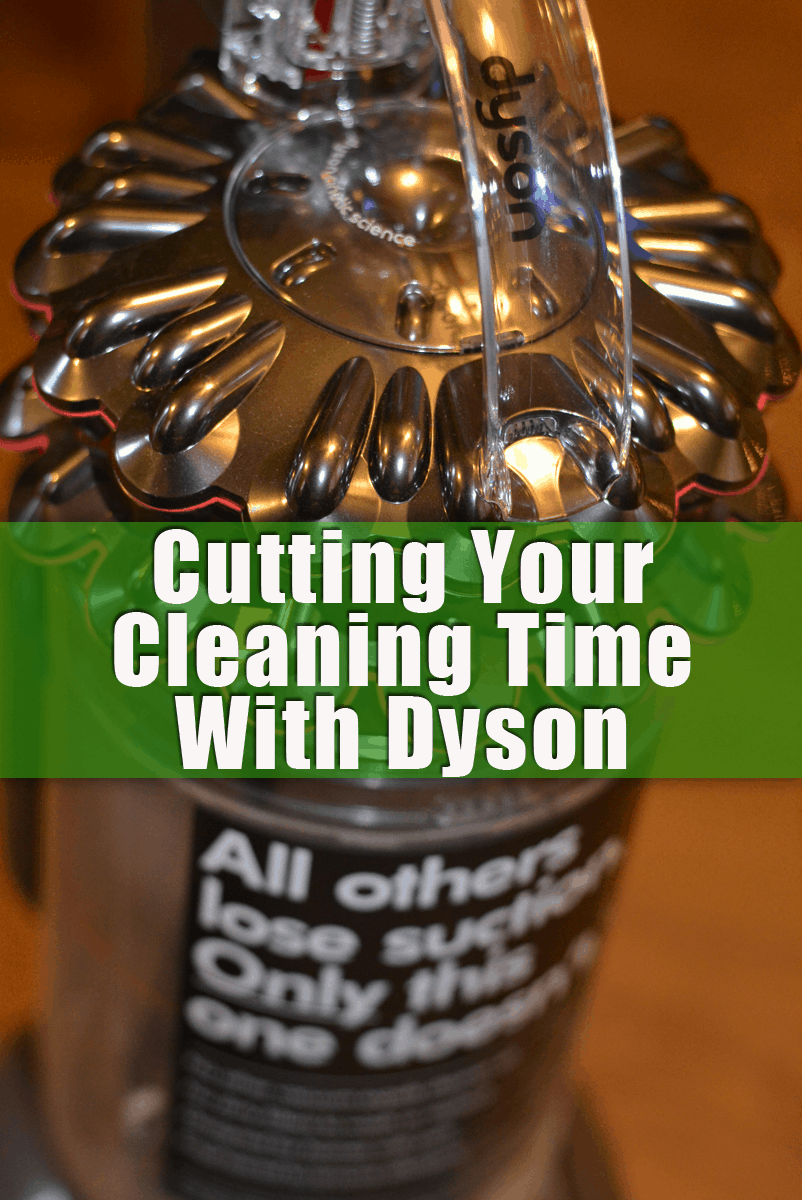 Cutting Your Cleaning Time with Dyson Cinetic Big Ball Animal and Allergy