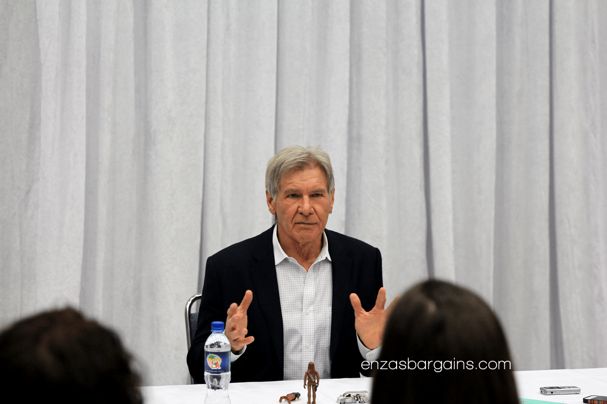 Exclusive Harrison Ford Interview for Star Wars The Force Awakens