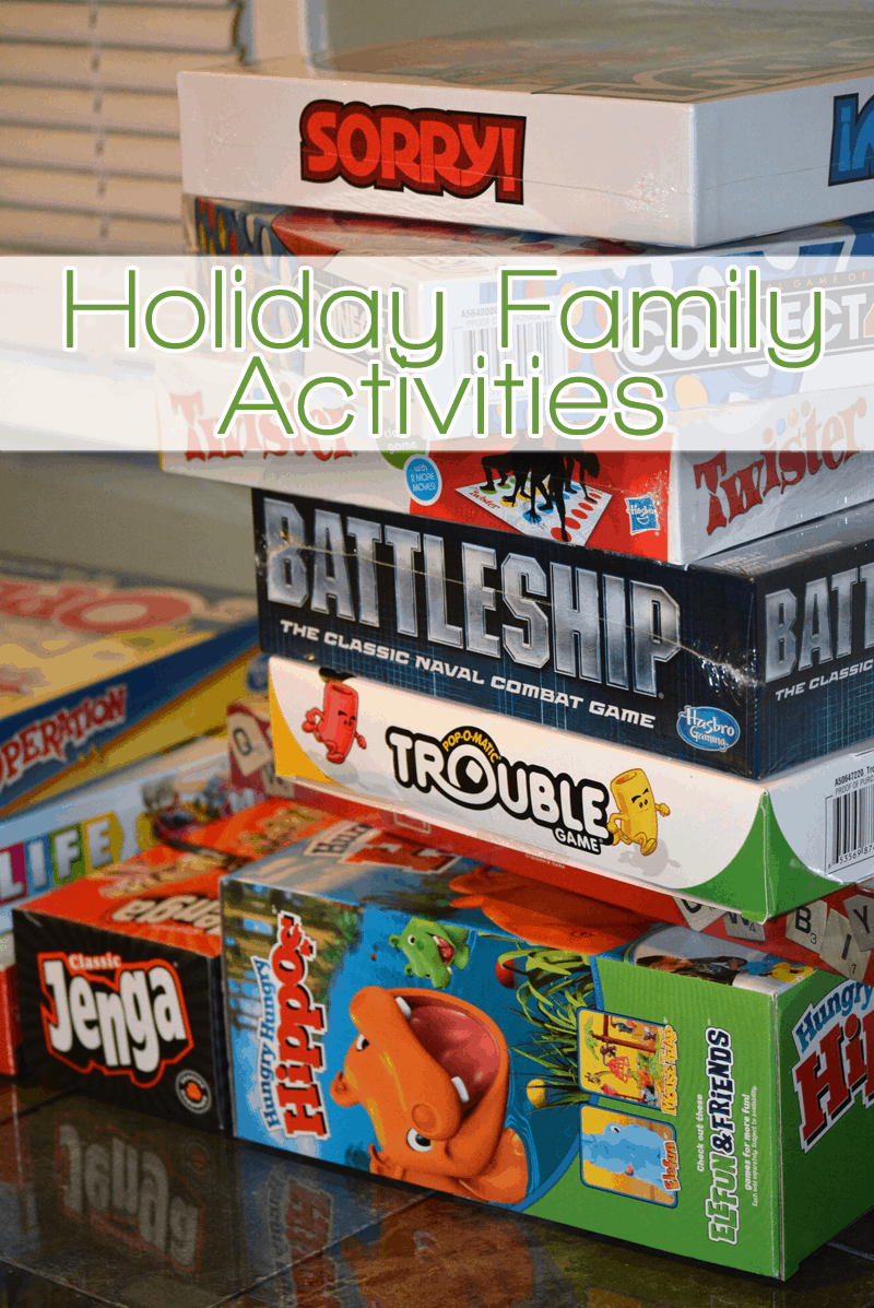 Holiday Family Activities While the Kids Are Off School