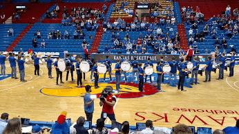 University of Kansas Lady Jayhawks Game Day Experience #ToughandTogether