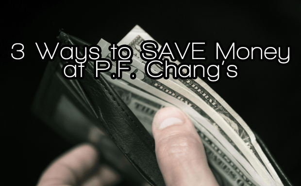 Chinese Food For the Holidays – 3 Ways to SAVE Money at P.F. Chang's