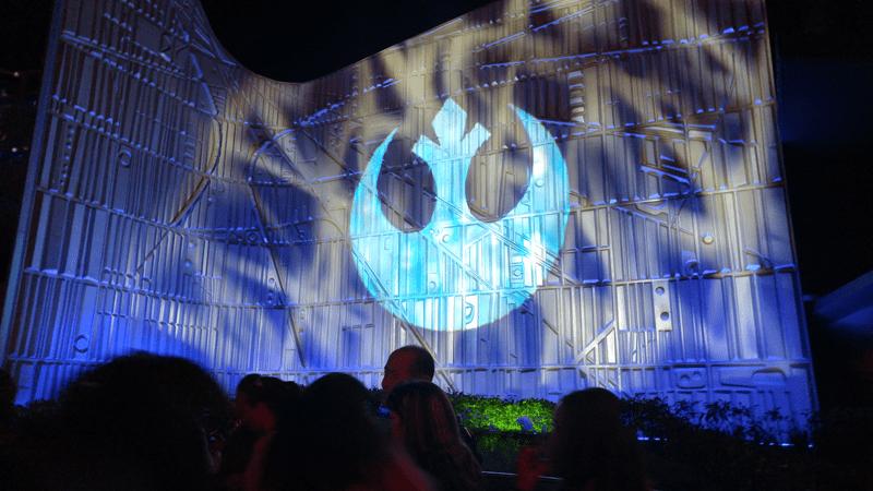 Disneyland Star Wars Theme Night - Seasons of the Force