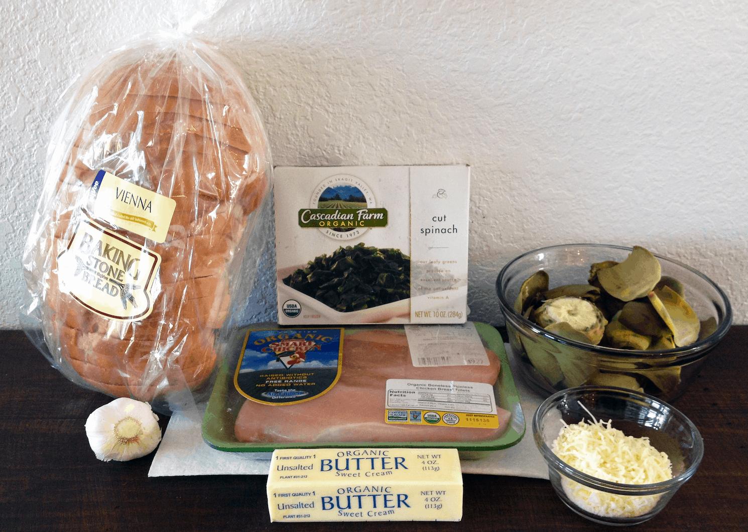 Spinach, Artichoke, & Chicken Panini Recipe