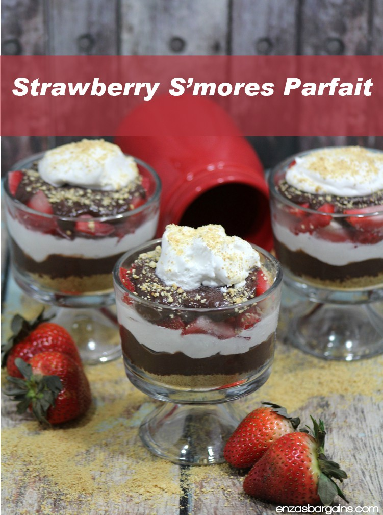 This Strawberry S'mores Parfait is easily my favorite desert of all time, it's AMAZING! I've always said my favorite desert was a tie between strawberry...