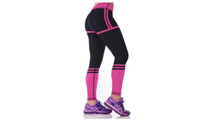 Cute Yoga Pants - Bright Colored and Contrasted Yoga Pants