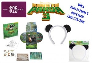 Kung Fu Panda Prize Pack (Ends 1/28)