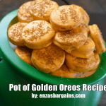 Pot of Golden Oreos Recipe - Gold Oreos for St. Patrick's Day and Rainbow Party FAVES!