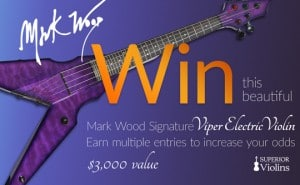 Mark Wood Signature VIPER Electric Violin