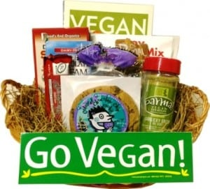 Vegan Gift Basket and Three Best Selling Recipe Books
