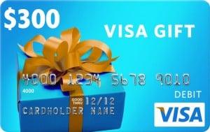 Giveaway: $300 Visa Gift Card (Ends 2/29)