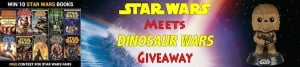 Giveaway: Star Wars books and Bobblehead Chewbacca (Ends 2/19)