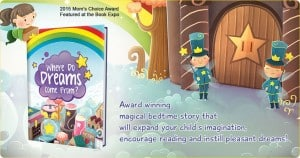 'Where Do Dreams Come From?' Personalized Kids Storybook