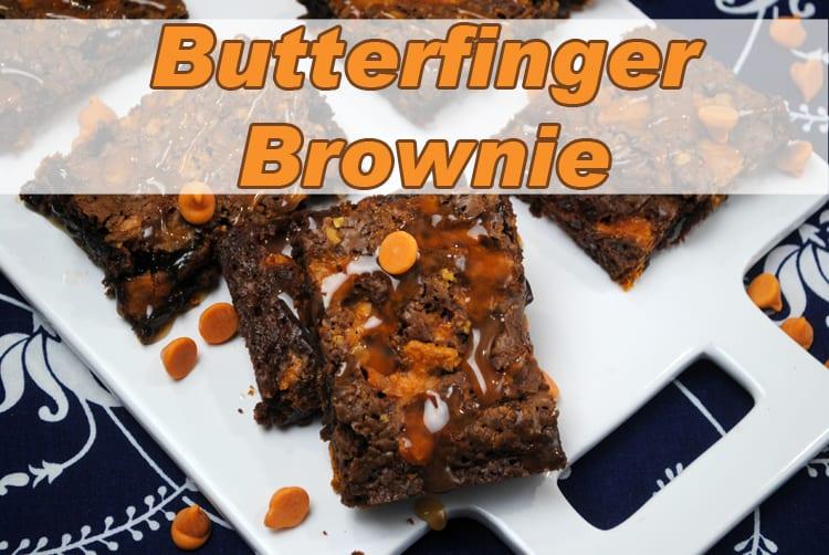 Butterfinger Brownie
