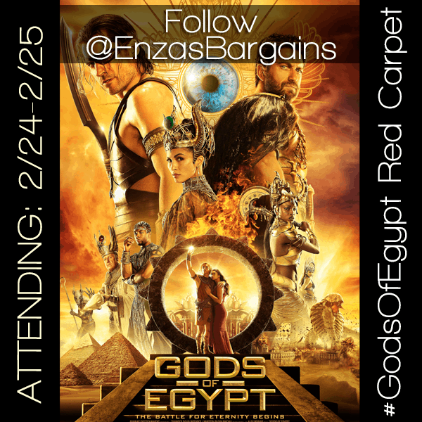 God's Of Egypt Red Carpet