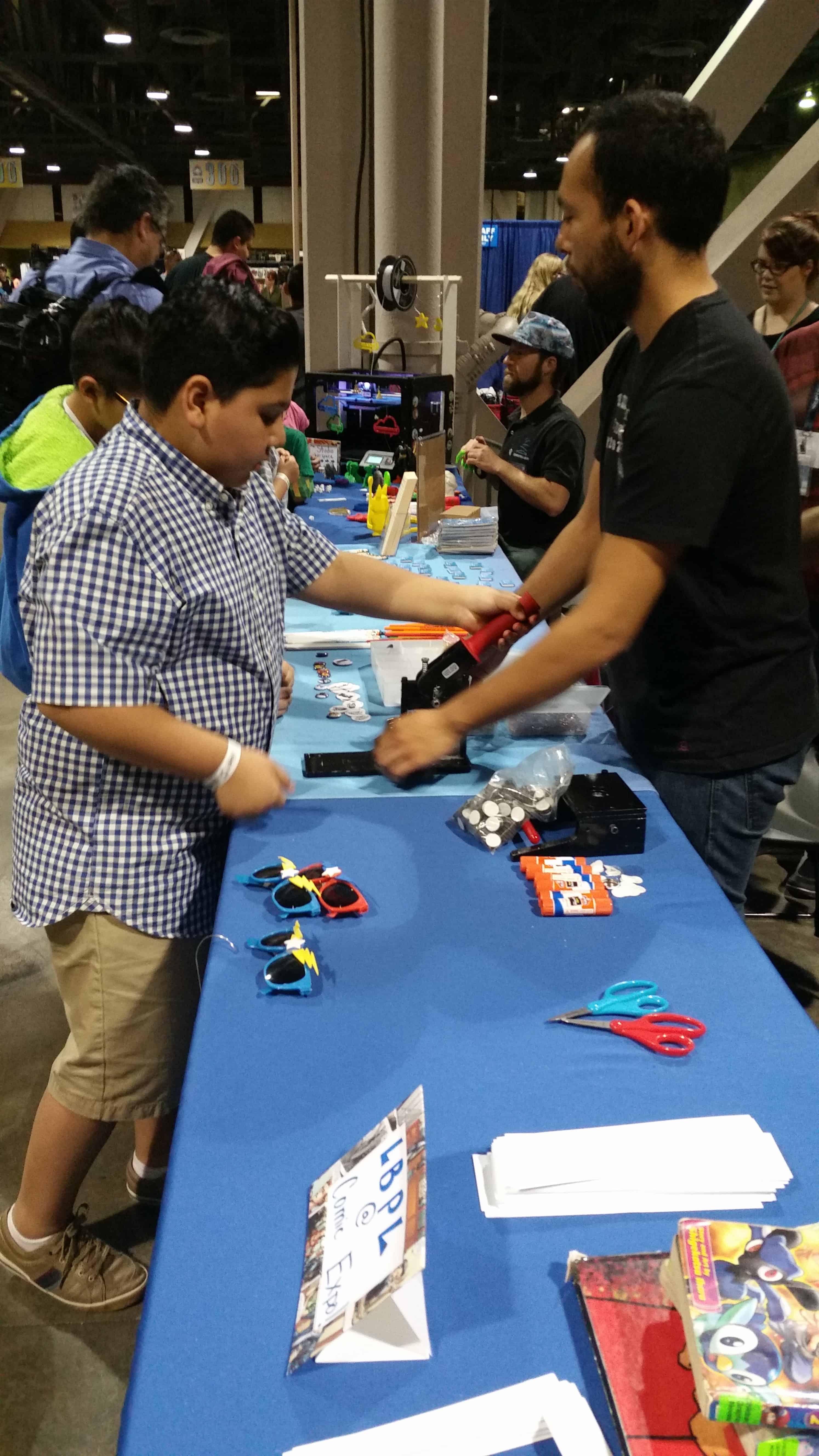 2016 Long Beach Comic Expo Media Coverage #LBCC