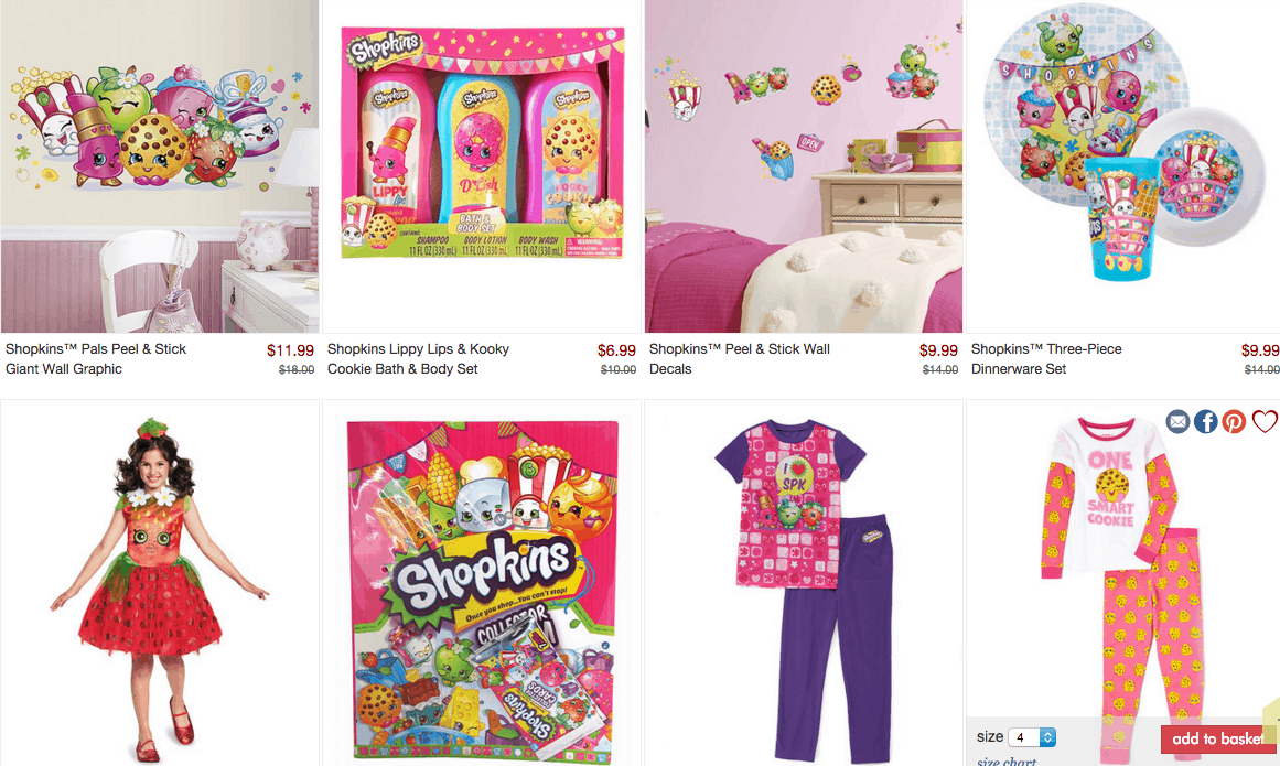 Shopkins 55% off on Zulily!