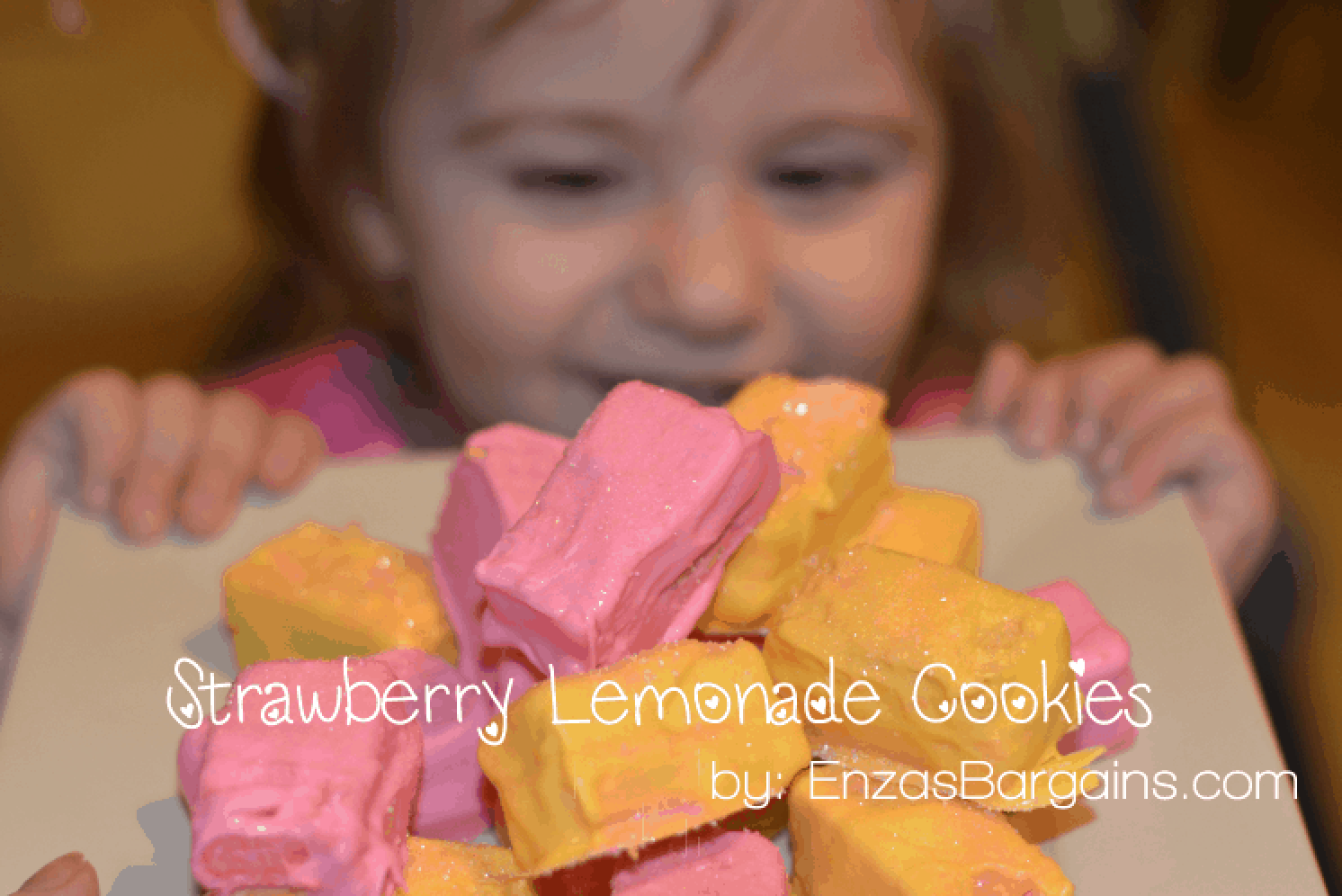 Strawberry Lemonade Cookies - Easy and Yummy!