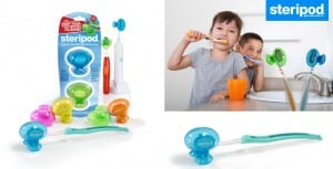 Steripod Clip-On Toothbrush Protector