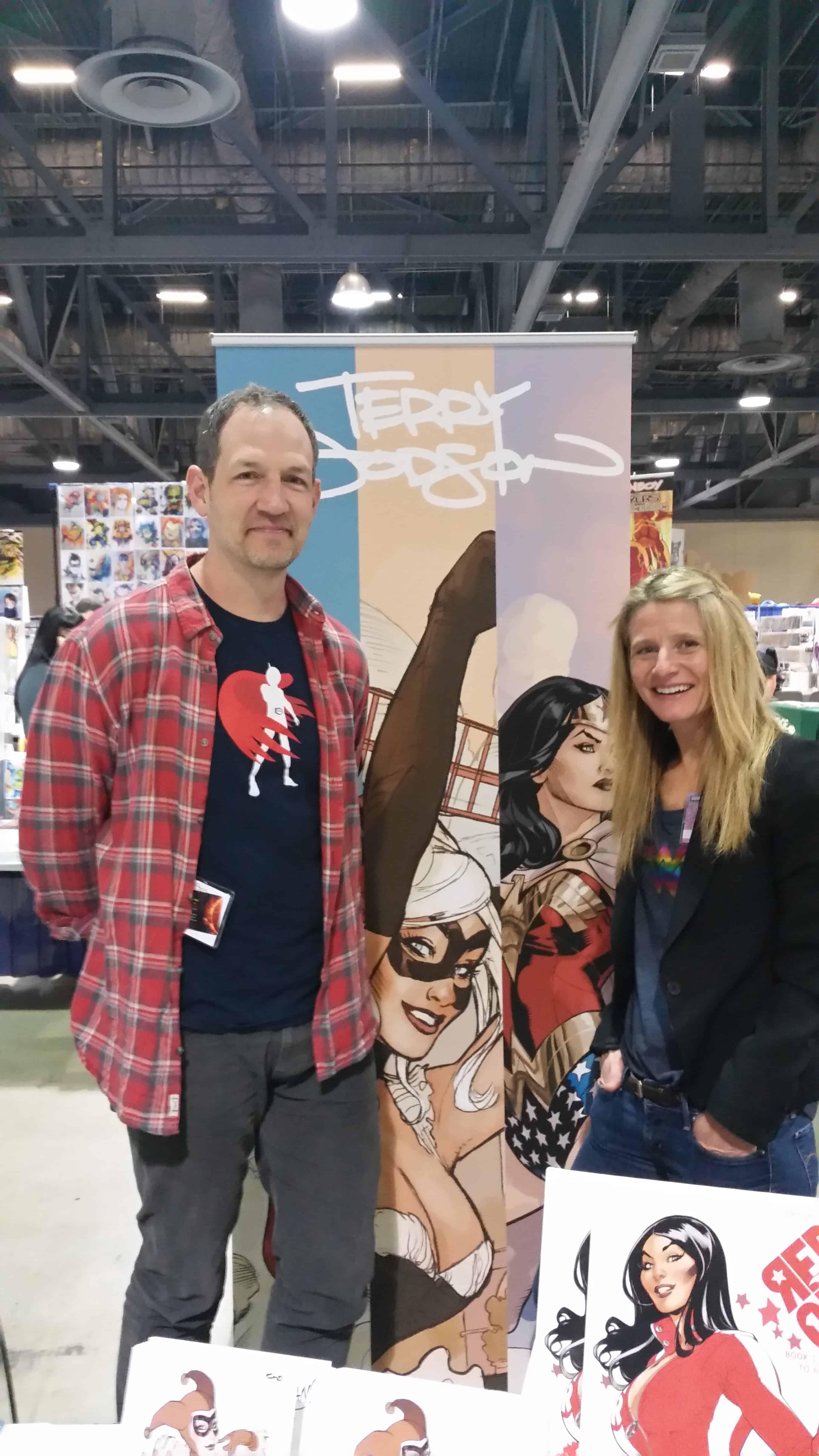 Terry and Rachel Dodson 2016 Long Beach Comic Expo Media Coverage #LBCC