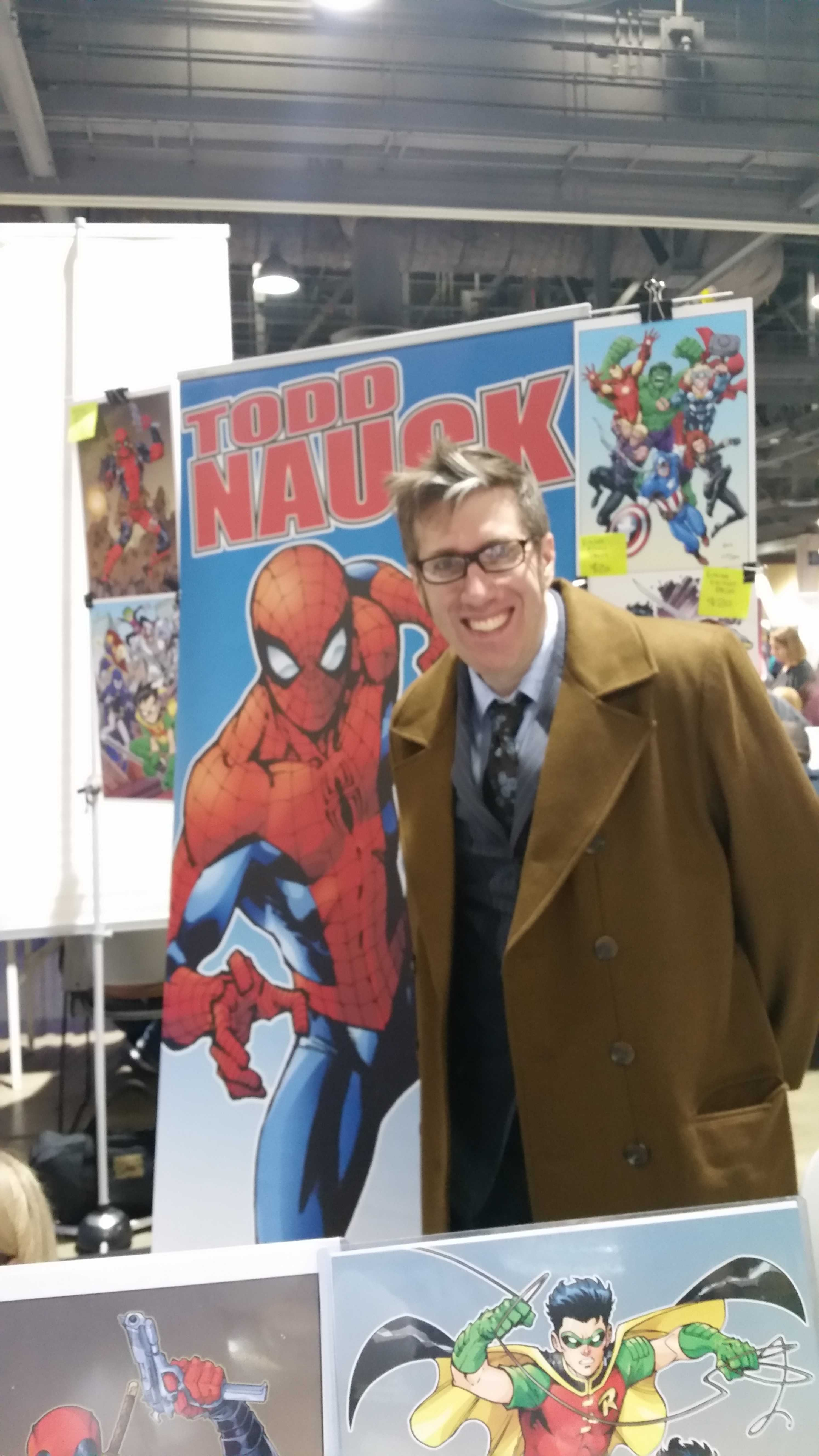 Todd Nauck - 2016 Long Beach Comic Expo Media Coverage #LBCC