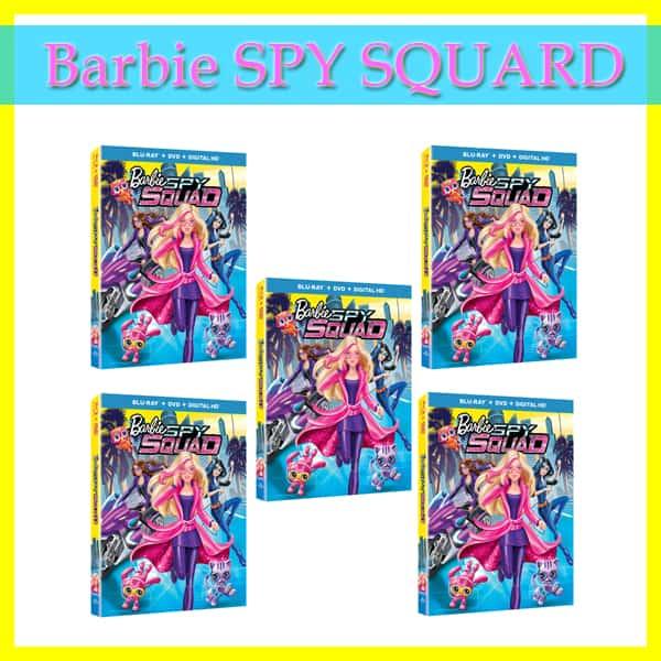 Barbie Spy Squad DVD Blu-ray Release + Giveaway!