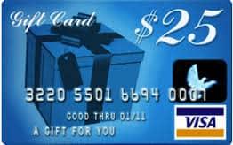 Giveaway: $25 Visa gift card (Ends 2/15)